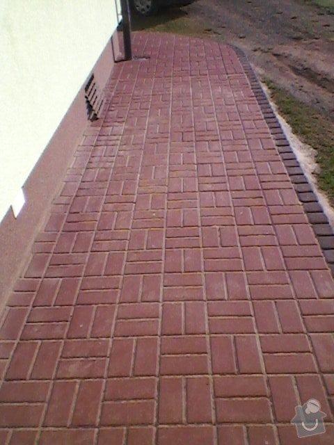 Teréní úpravy,zámková dlažba+obložení schodů: SP_A0057