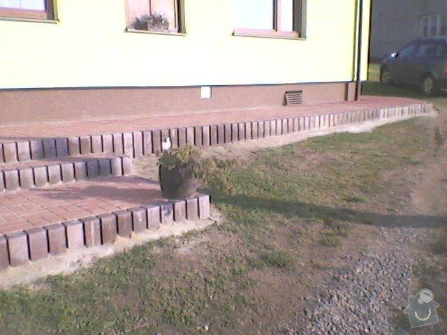 Teréní úpravy,zámková dlažba+obložení schodů: SP_A0071