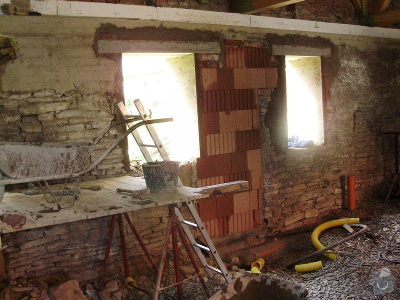 Rekonstrukce nemovitosti : P5160479