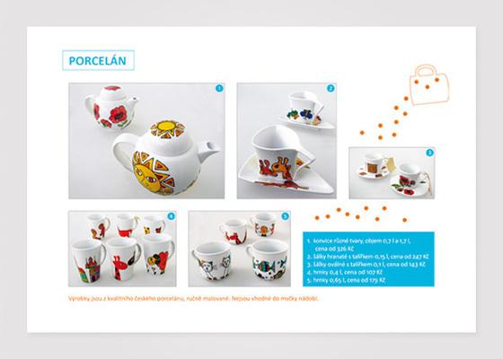 Katalog výrobků chráněných dílen Sofieshop