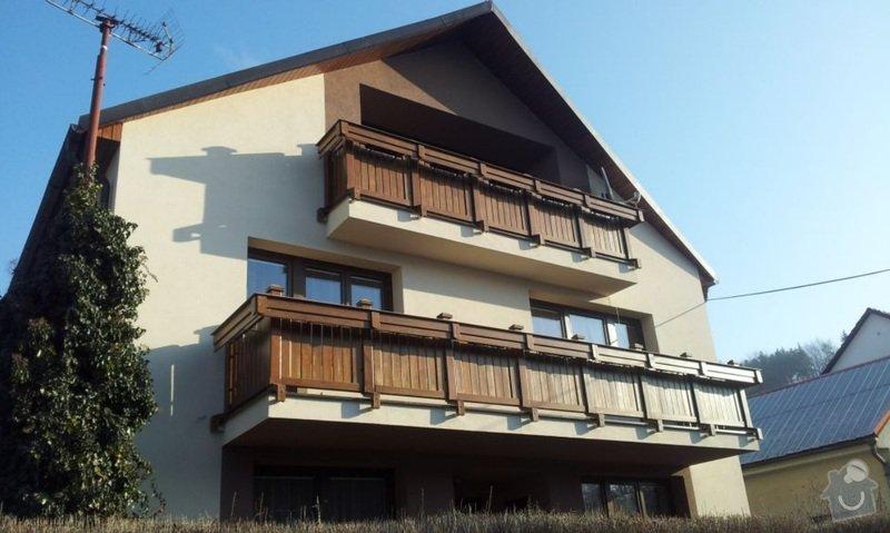 Dřevěné zábradlí balkónu zábradlí s truhlíkem typ TYP SCHWANZENBERG: Bez_nazvu