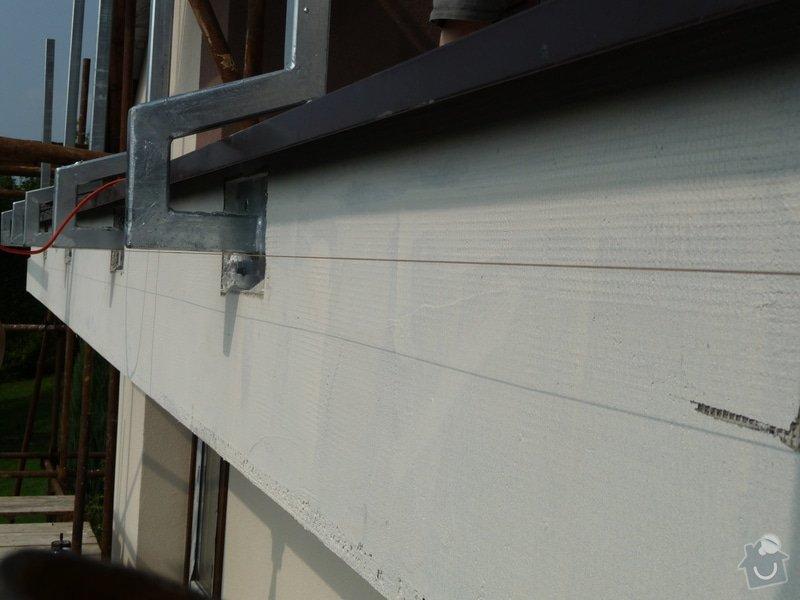 Dřevěné zábradlí balkónu zábradlí s truhlíkem typ TYP SCHWANZENBERG: P1050521