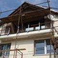 Drevene zabradli balkonu zabradli s truhlikem typ typ schwanz p1050528