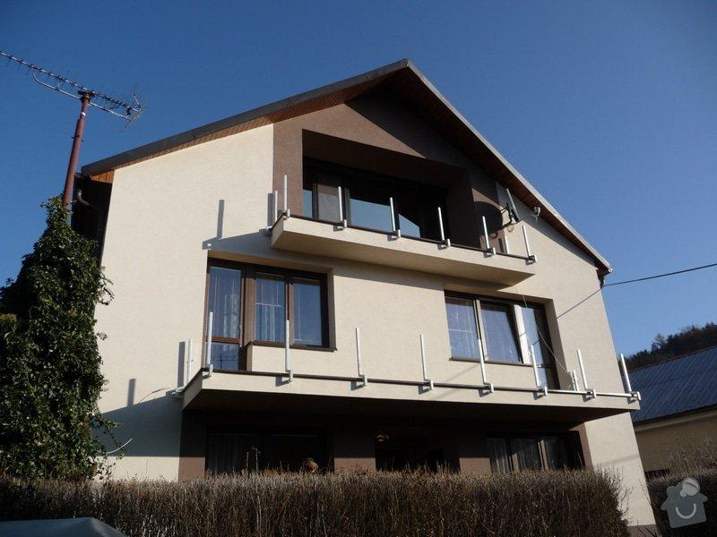 Dřevěné zábradlí balkónu zábradlí s truhlíkem typ TYP SCHWANZENBERG: P1050707
