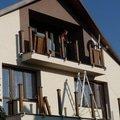 Drevene zabradli balkonu zabradli s truhlikem typ typ schwanz p1050709