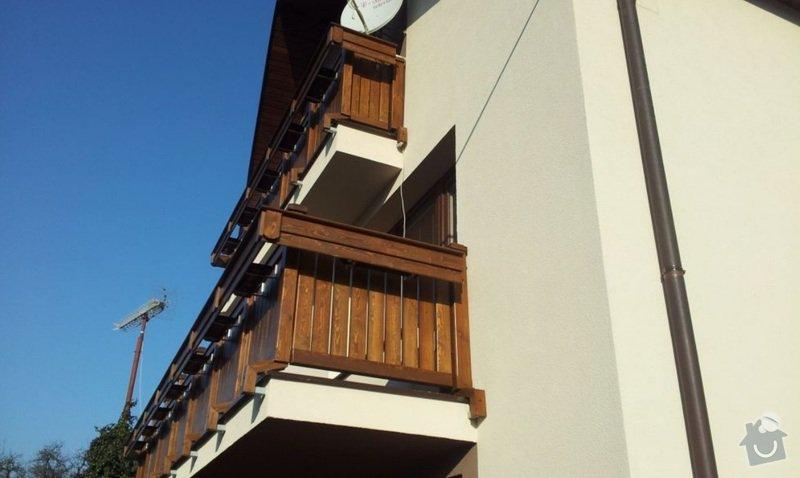 Dřevěné zábradlí balkónu zábradlí s truhlíkem typ TYP SCHWANZENBERG: zadverice_2
