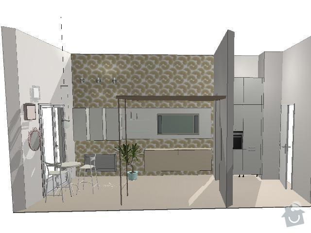 Celokovou rekonstrukci bytu na Praze 1: 1