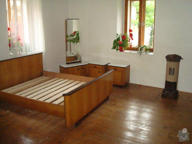 Renovace drevene podlahy: Chalupa_025