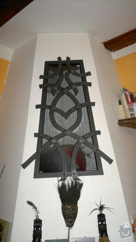 Kovaná designová mříž nad krb: IMG_1141
