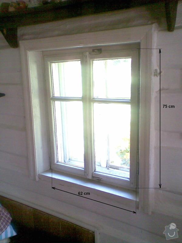 Okna - výroba a montáž: pohled_z_vnitrku_rozmery