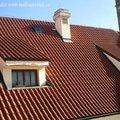 Zednicke prace oprava kominu a rims nad okny pomoci horolezec fotografie041