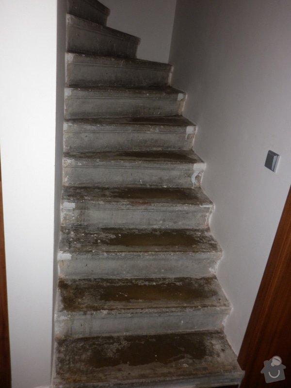 Výroba obložení betonových schodů: P1000704