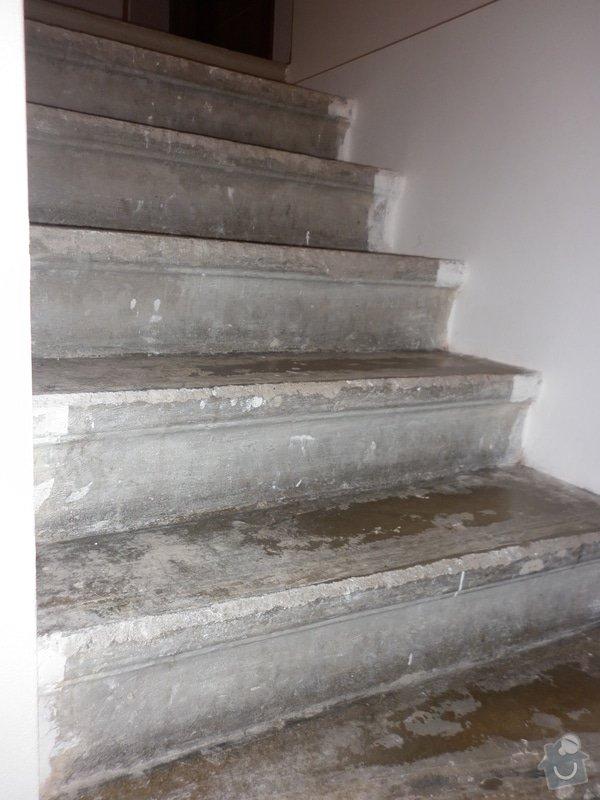 Výroba obložení betonových schodů: P1000705