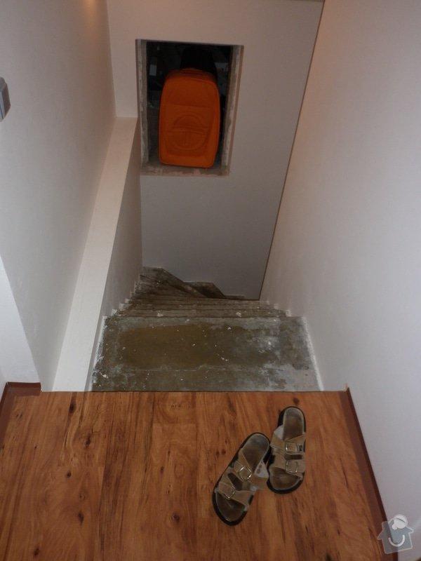 Výroba obložení betonových schodů: P1000706