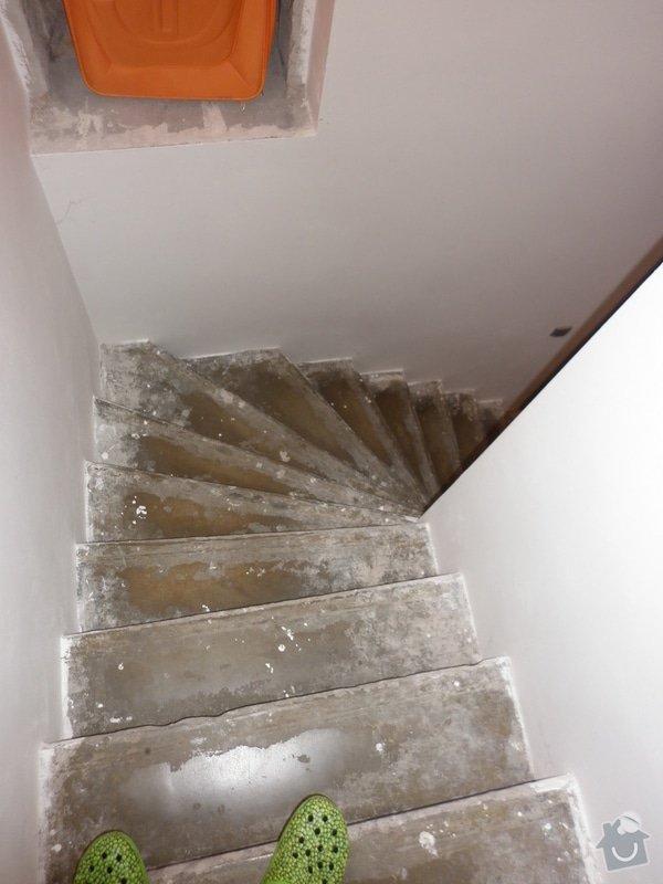 Výroba obložení betonových schodů: P1000707