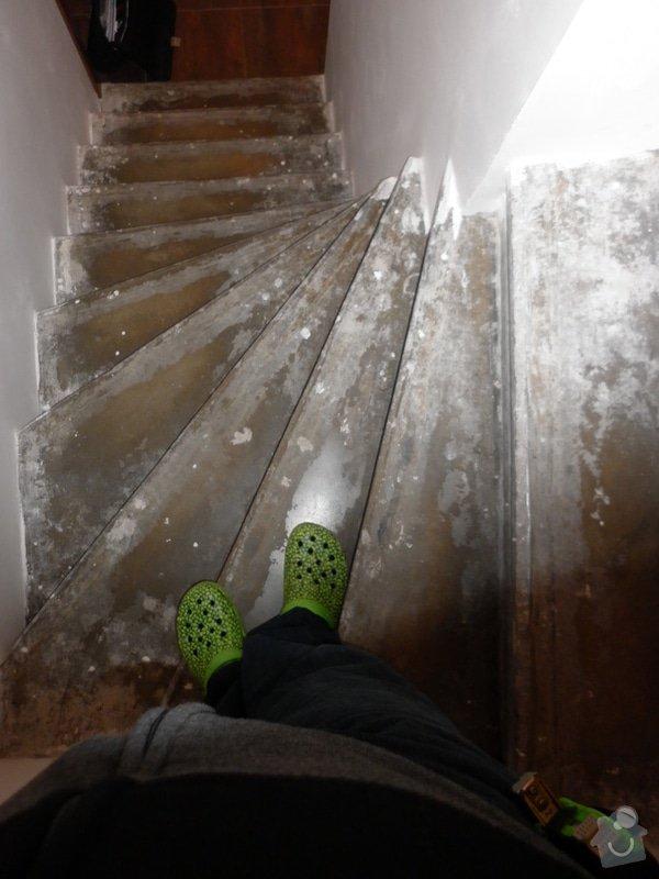 Výroba obložení betonových schodů: P1000708