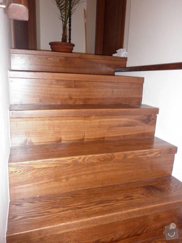Výroba obložení betonových schodů: P1000772