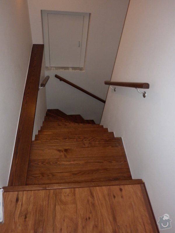 Výroba obložení betonových schodů: P1000773