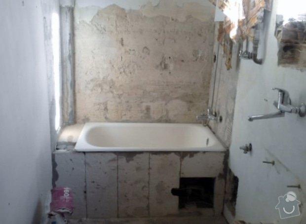 Vydlaždičkování koupelny 18m2, pokládka podlahy v koupelně 3m2: Renovace_koupelny_20_