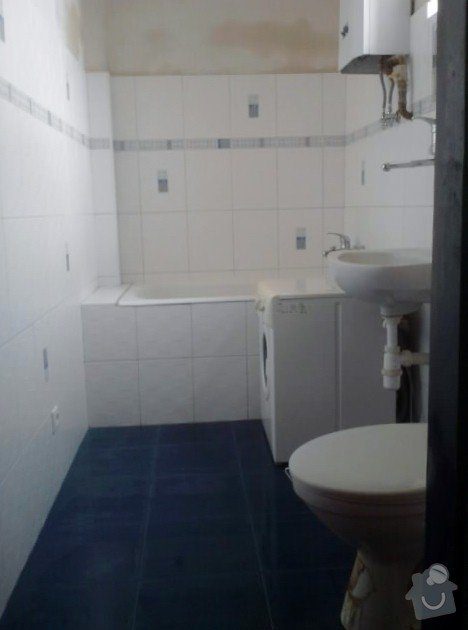 Vydlaždičkování koupelny 18m2, pokládka podlahy v koupelně 3m2: Renovace_koupelny_19_