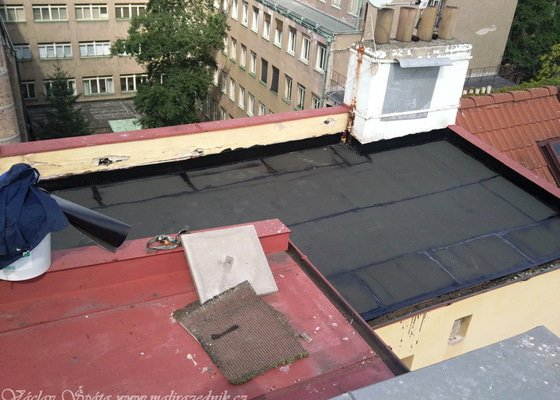 Převaření střechy ipou