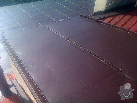 Nátěr střechy a klempířských prvků : IMAG0348
