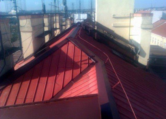 Nátěr střechy a klempířských prvků