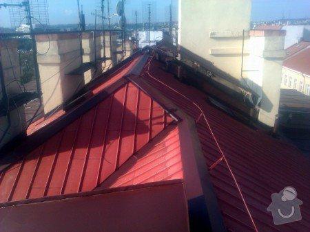 Nátěr střechy a klempířských prvků : IMAG0349