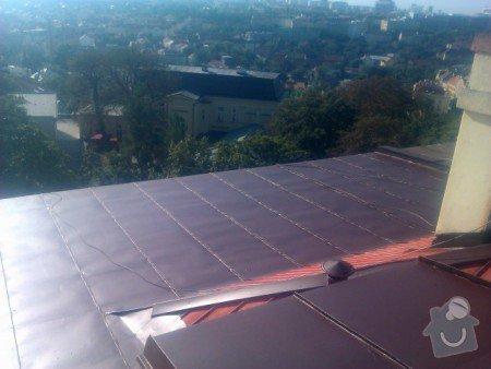 Nátěr střechy a klempířských prvků : IMAG0350
