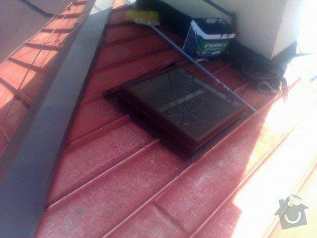 Nátěr střechy a klempířských prvků : IMAG0353