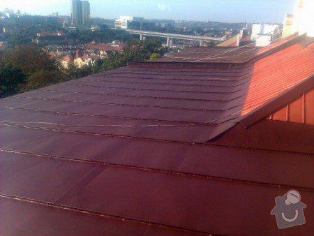 Nátěr střechy a klempířských prvků : IMAG0354