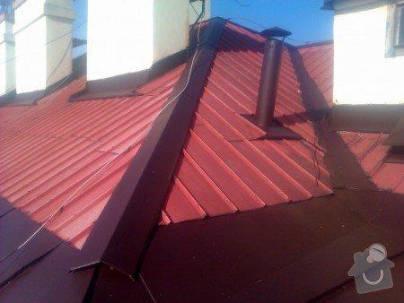 Nátěr střechy a klempířských prvků : IMAG0368