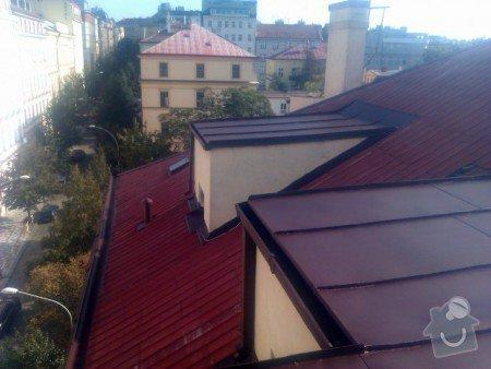 Nátěr střechy a klempířských prvků : IMAG0370