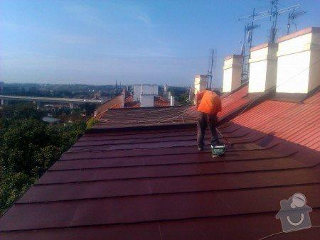 Nátěr střechy a klempířských prvků : IMAG0393