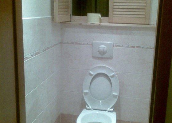 Předělání koupelny z umakartového jádra na zděné + změna místo vany sprchoví kout zděný