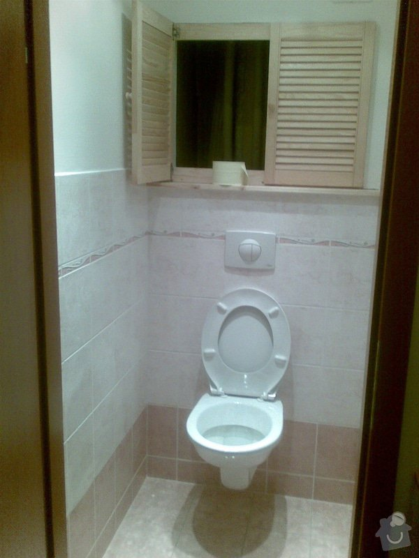 Předělání koupelny z umakartového jádra na zděné + změna místo vany sprchoví kout zděný: Obraz022