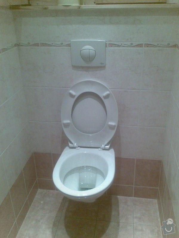 Předělání koupelny z umakartového jádra na zděné + změna místo vany sprchoví kout zděný: Obraz023