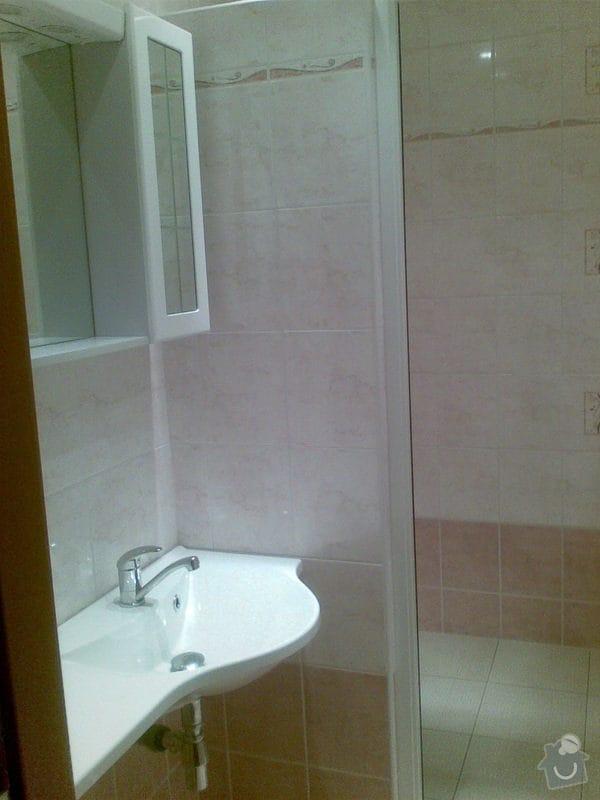 Předělání koupelny z umakartového jádra na zděné + změna místo vany sprchoví kout zděný: Obraz024