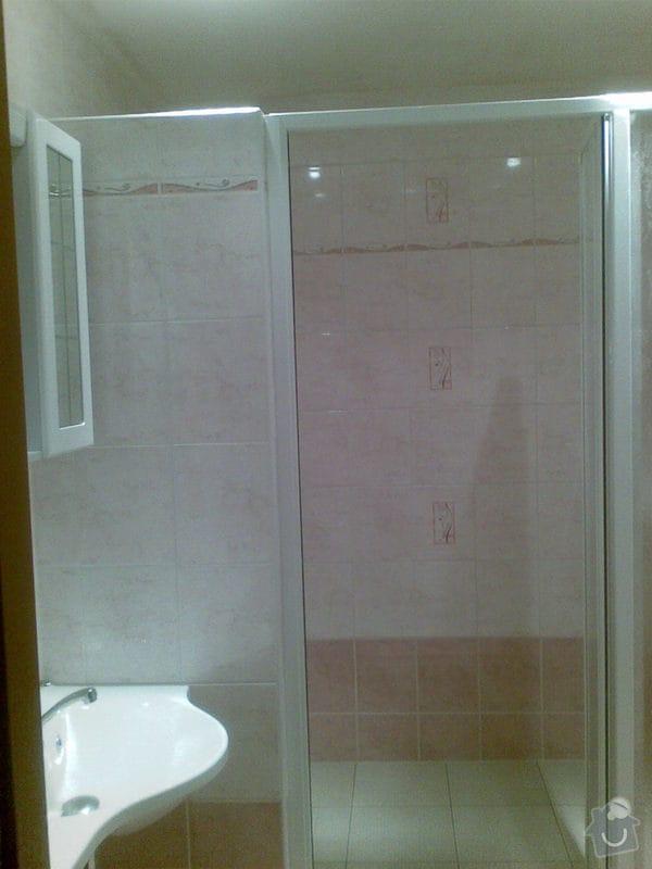 Předělání koupelny z umakartového jádra na zděné + změna místo vany sprchoví kout zděný: Obraz025