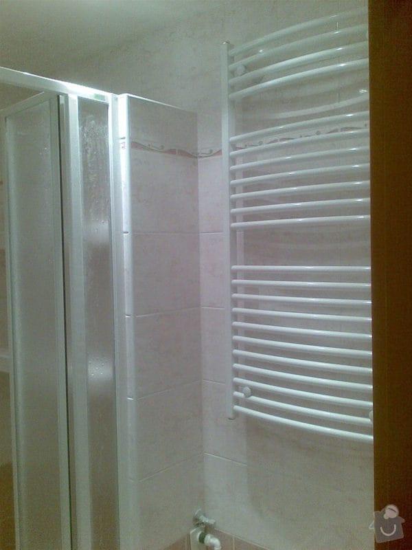 Předělání koupelny z umakartového jádra na zděné + změna místo vany sprchoví kout zděný: Obraz026