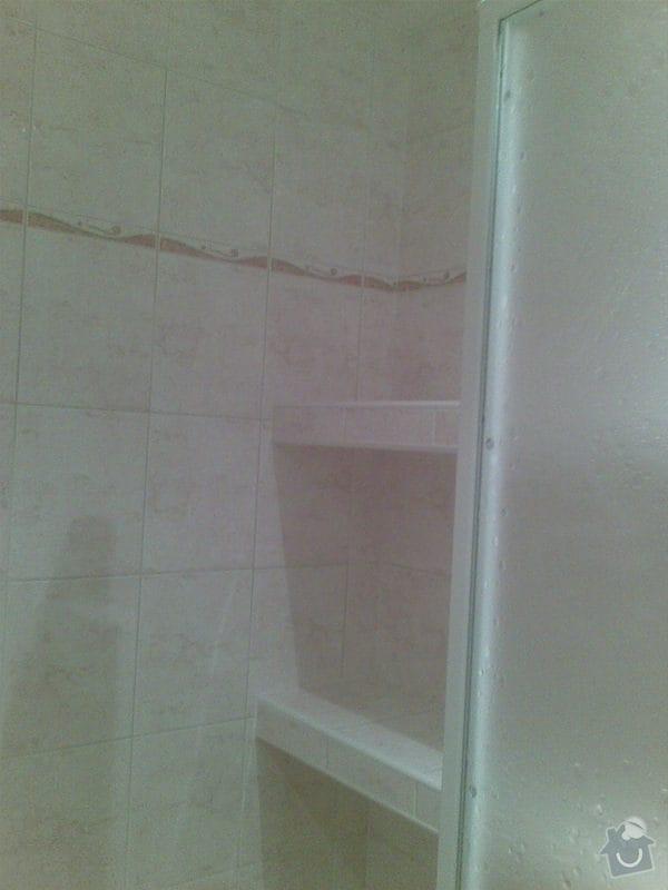 Předělání koupelny z umakartového jádra na zděné + změna místo vany sprchoví kout zděný: Obraz027