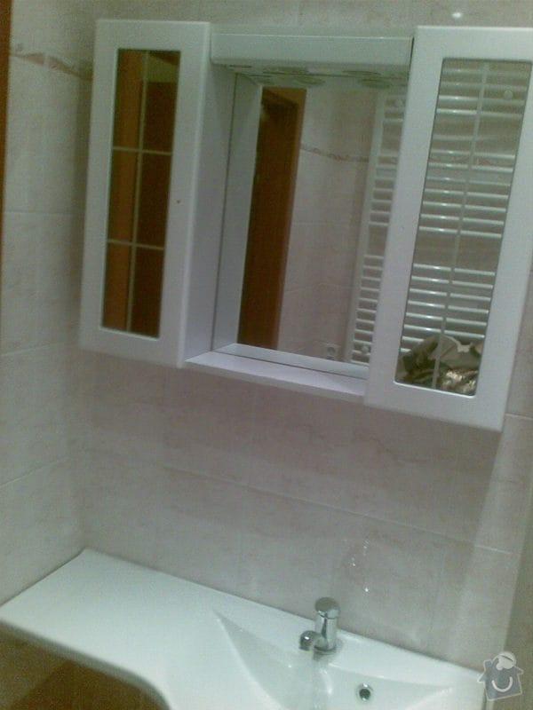 Předělání koupelny z umakartového jádra na zděné + změna místo vany sprchoví kout zděný: Obraz029