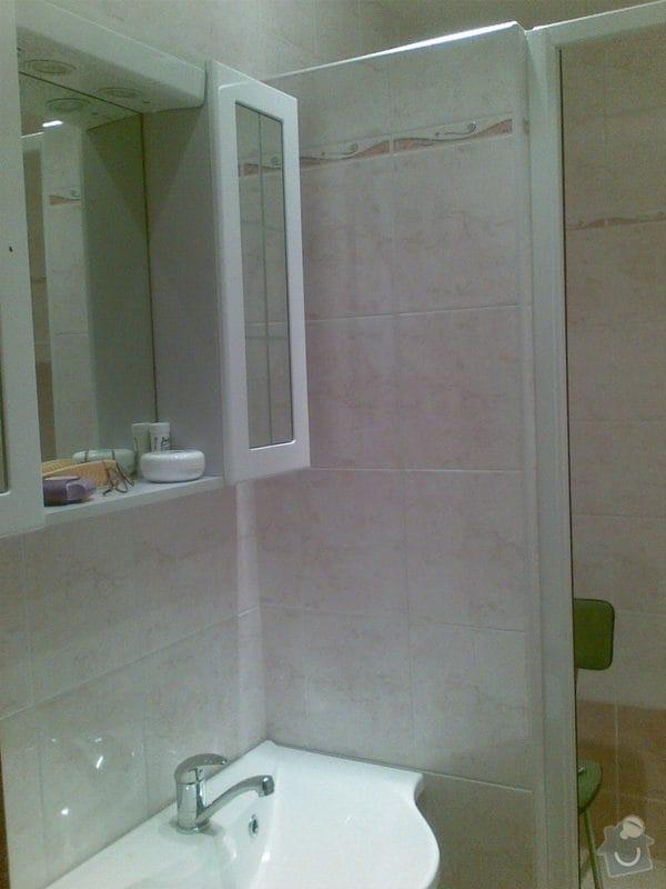 Předělání koupelny z umakartového jádra na zděné + změna místo vany sprchoví kout zděný: Obraz031