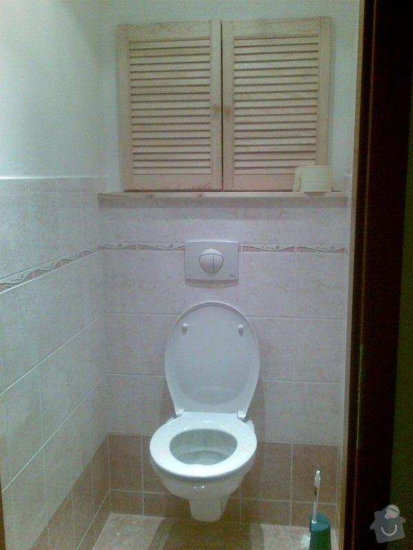 Předělání koupelny z umakartového jádra na zděné + změna místo vany sprchoví kout zděný: Obraz035