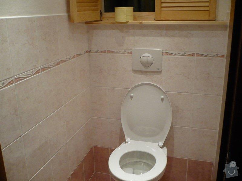 Předělání koupelny z umakartového jádra na zděné + změna místo vany sprchoví kout zděný: P1010659