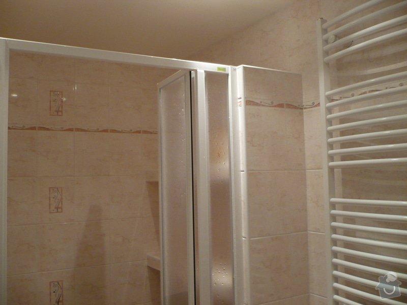 Předělání koupelny z umakartového jádra na zděné + změna místo vany sprchoví kout zděný: P1010664