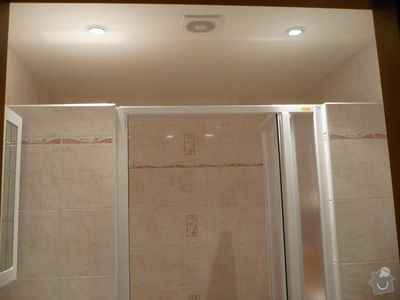 Předělání koupelny z umakartového jádra na zděné + změna místo vany sprchoví kout zděný: P1010665