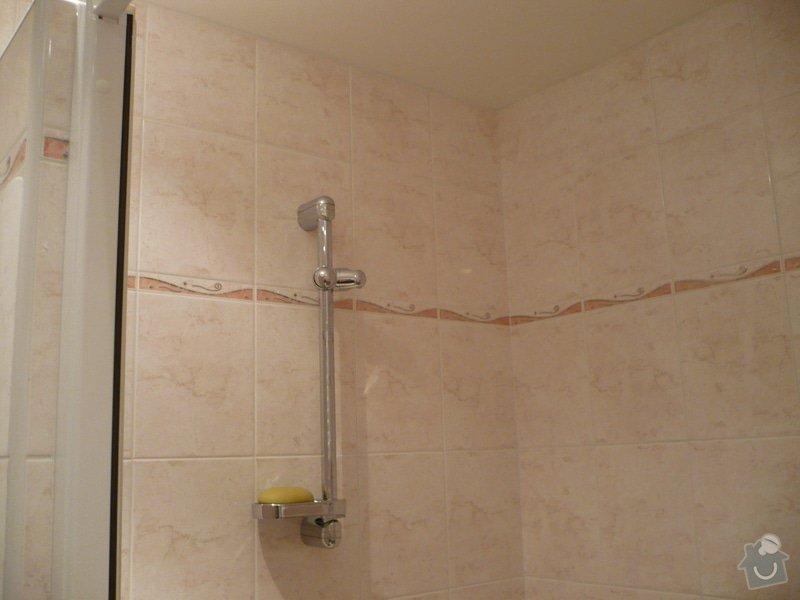 Předělání koupelny z umakartového jádra na zděné + změna místo vany sprchoví kout zděný: P1010669