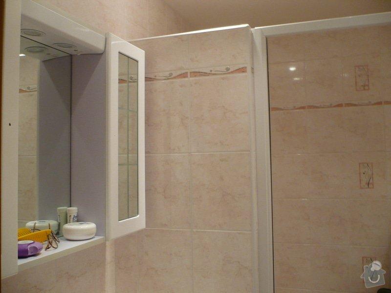 Předělání koupelny z umakartového jádra na zděné + změna místo vany sprchoví kout zděný: P1010671