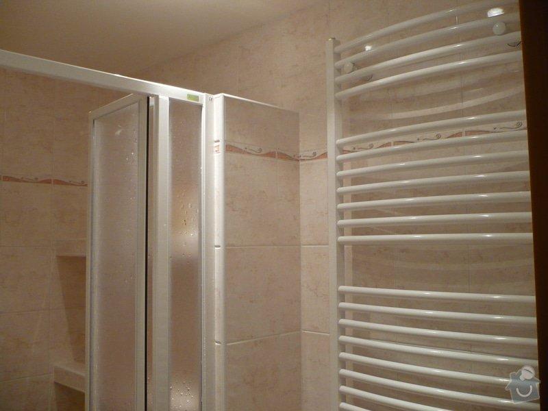Předělání koupelny z umakartového jádra na zděné + změna místo vany sprchoví kout zděný: P1010672
